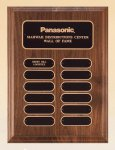 American Walnut Perpetual Plaque Achievement Award Trophies