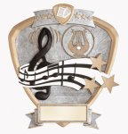 Signature Series Music Shield Award All Trophy Awards