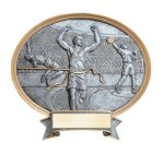 Legend Track & Field Oval Award Oval Resin Trophy Awards
