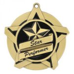 Star Performer Super Star Medal Scholastic Trophy Awards
