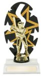 Baseball Male Backdrop Trophy Star Awards