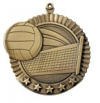 Star Volleyball Medals Star Medal Awards
