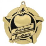 Academic Excellence Super Star Medal Super Star Medal Awards