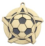 Soccer Super Star Medal  Gold Super Star Medal Awards