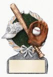 Baseball Multi Color Sport Resin Figure Wreath Awards
