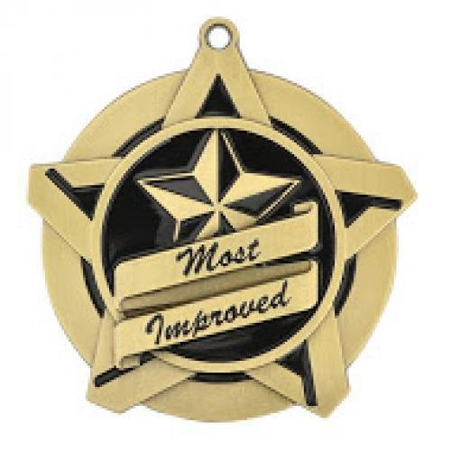 most improved super star medal medal awards